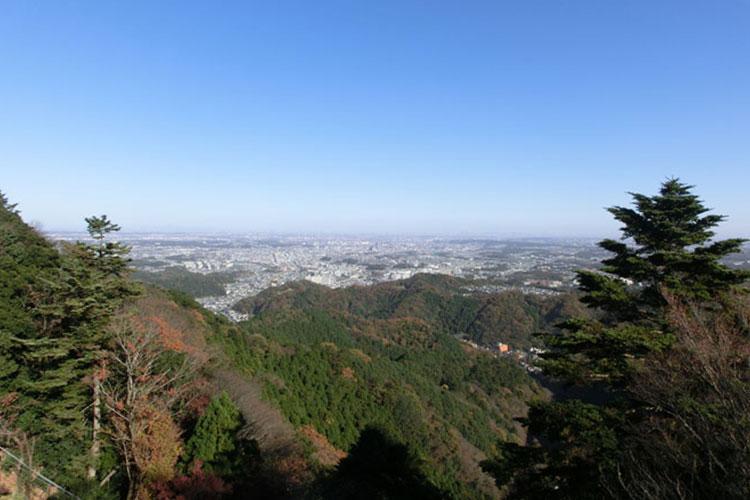 View from Mt. Takao (Photos by Ichiro Katayanagi)