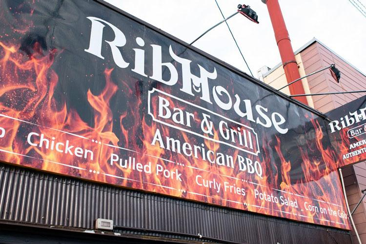 "Rib House, a popular restaurant and bar near Marine Corps Air Station Iwakuni, Japan, has been placed off limits to U.S. personnel ""due to illegal drug activity and other related criminal activity."" (JAMES BOLINGER/STARS AND STRIPES)"
