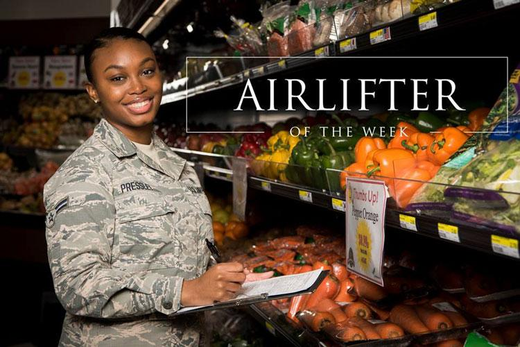 Airman 1st Class Jayla Pressley