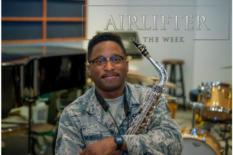 SrA Derrick Newbold, USAF Band of the Pacific