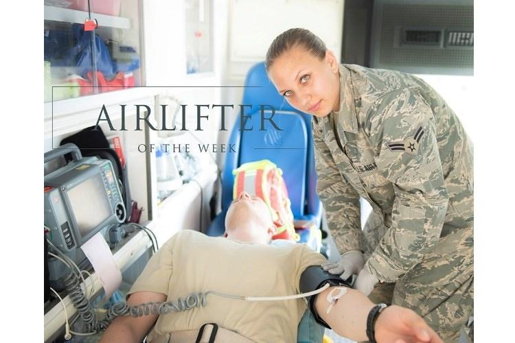 Airman 1st Class Kayla Vait, 374th Medical Operations Squadron medical technician