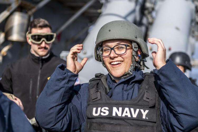 U.S. Navy photo by Mass Communication Specialist 2nd Class Taylor DiMartino