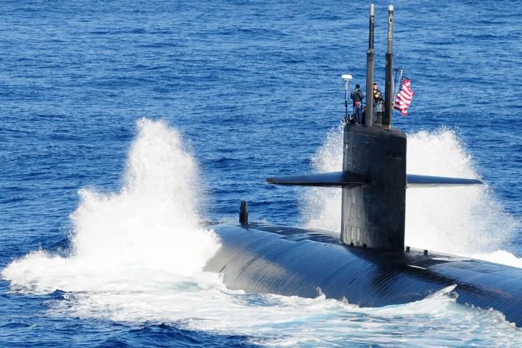 U.S. Navy file photo of a Los Angeles-class attack submarine. (Photo by Mass Communication Specialist 3rd Class Casey H. Kyhl)