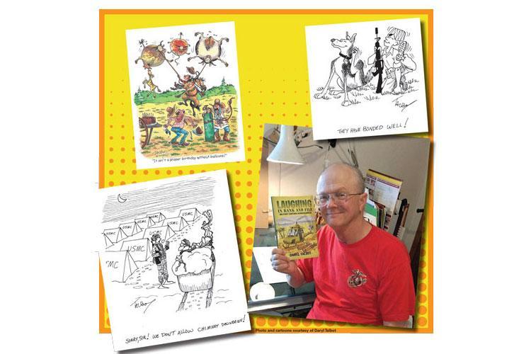Photo and cartoons courtesy of Daryl Talbot