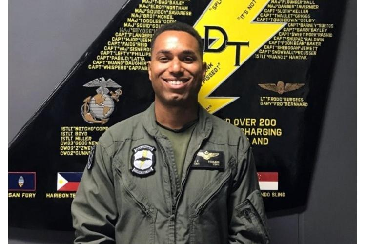 Capt. Jahmar Resilard died Dec. 6, 2018, after a collision between a fighter jet and a refueling plane off the coast of Japan. (U.S. MARINE CORPS)
