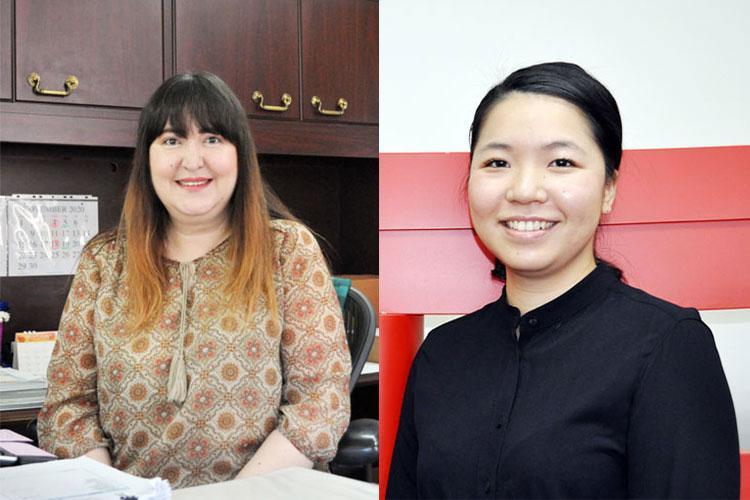 (Left) Rika Osada, (Right) Suki Andrews