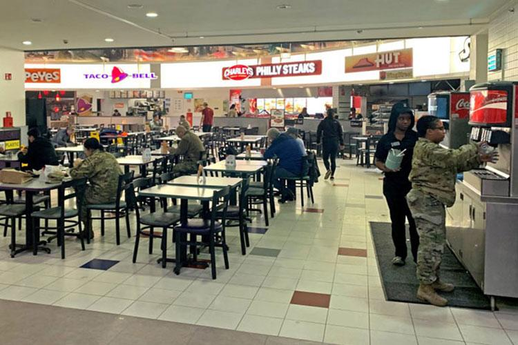 Customers ordering out from fast food restaurants on overseas bases may soon be receiving months of charges dating from June through October due to a technical error, AAFES said. (IMMANUEL JOHNSON/STARS AND STRIPES)