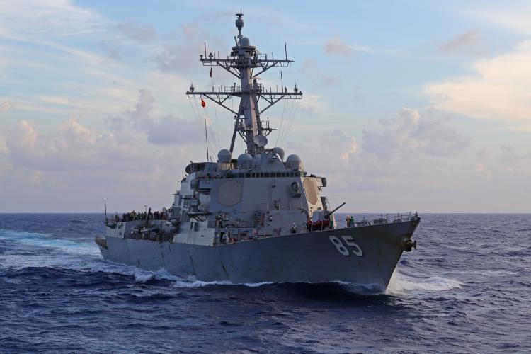 U.S. Navy file photo of USS McCampbell (DDG 85). (Photo by Nick Hall)