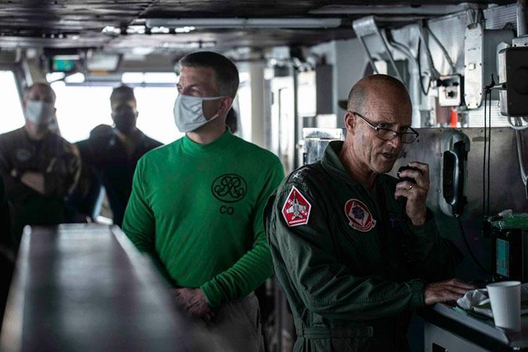 Photo by Aviation Boatswain's Mate (Handling) 3rd Class Kimani Wint