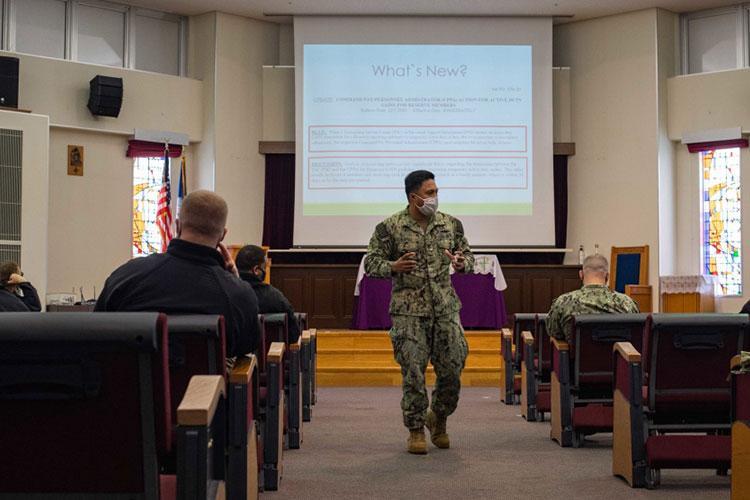 U.S. Navy photo by Mass Communication Specialist Seaman Jasmine Ikusebiala