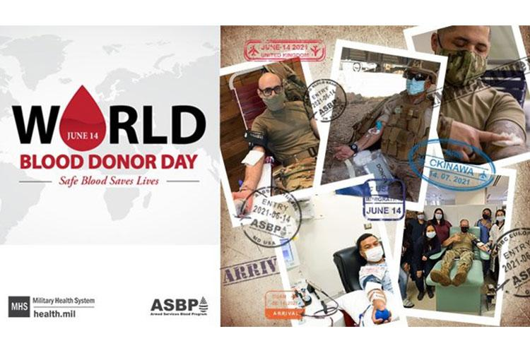 The ABSP celebrates blood donors worldwide for World Blood Donor Day, June 14 (Courtesy of ASBP).