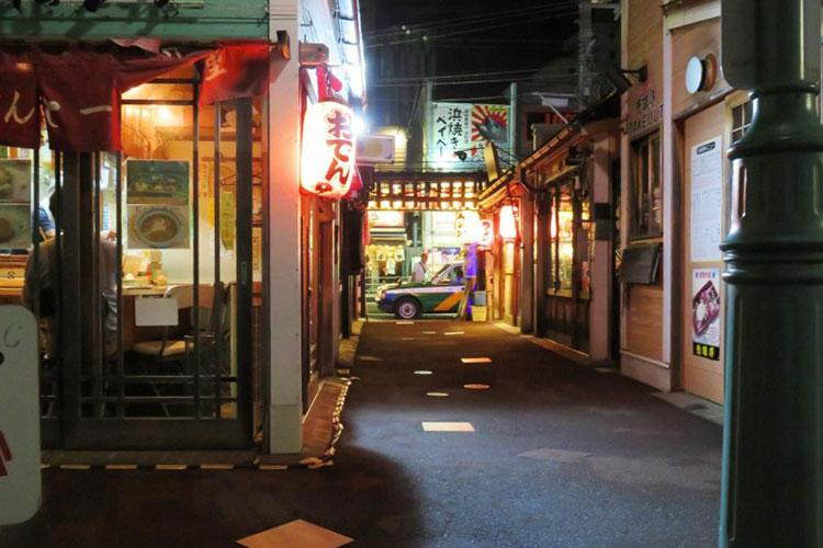 Daimon Yokocho is just 10 minutes walk from Hakodate Station
