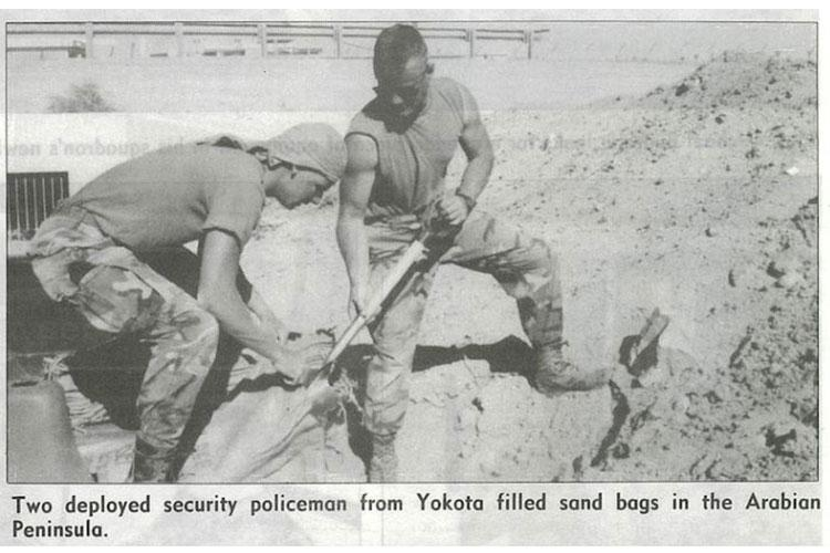 Photo featured in March 29, 1991 Fuji Flyer newsletter. (Courtesy photo)