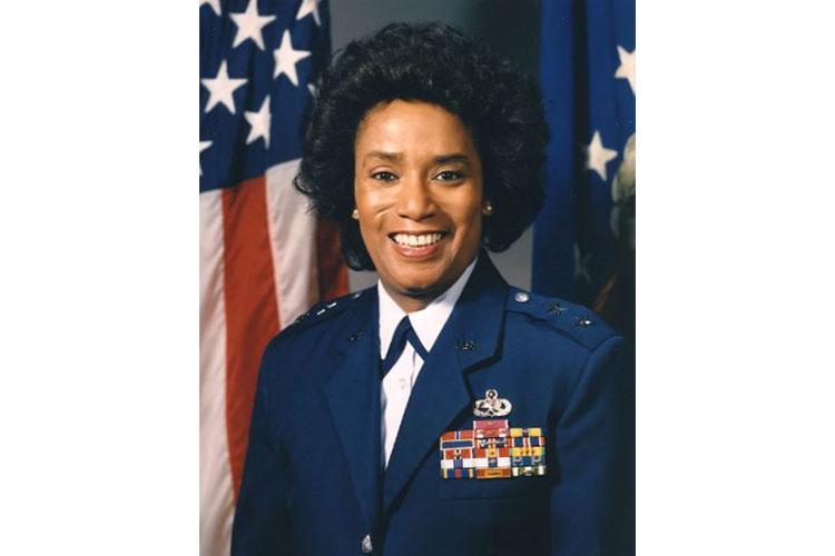 Maj. Gen. Marcelite J. Harris was the first woman aircraft maintenance officer, one of the first two women air officers commanding at the U.S. Air Force Academy and the first woman deputy commander for maintenance. She also served as a White House social aide during the Carter administration. (U.S. Air Force courtesy photo)