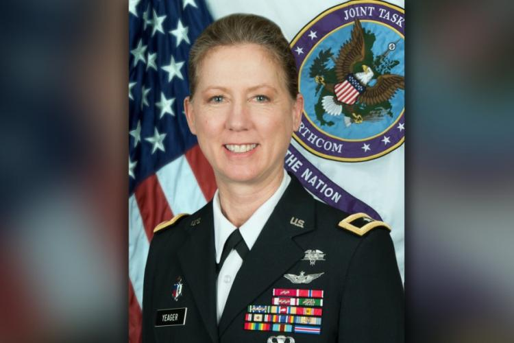 Brig. Gen. Laura Yeager will take command of the California National Guard's 40th Infantry Division on on June 29, 2019. DEPARTMENT OF DEFENSE