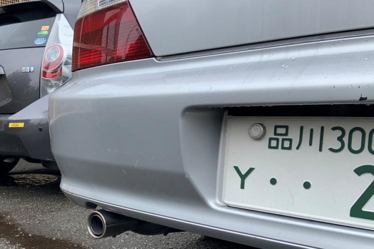 A 'Y' plate is displayed on a vehicle at Yokota Air Base, Japan on July 12, 2019. The plate does not belong to the suspect who is being sought in connections with an assault that occurred near Misawa Air Base on July 10, 2019. KAT BOUZA/STARS AND STRIPES