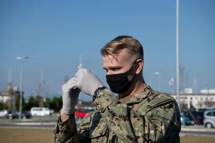 U.S. Marine Corps photo by Lance Cpl. Lennon Dregoiw