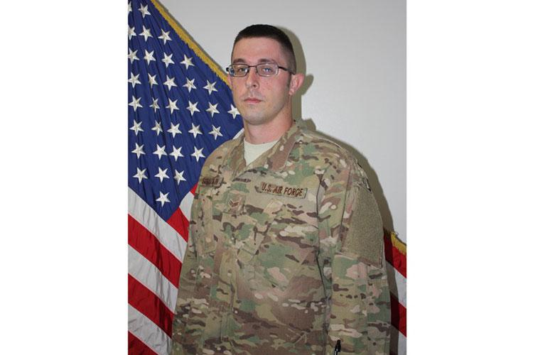 Senior Airman Michael Spradlin of the 374th Maintenance Squadron at Yokota Air Base, Japan, was killed in an on-base motorcyle accident, Wednesday, Feb. 5, 2020. U.S. AIR FORCE