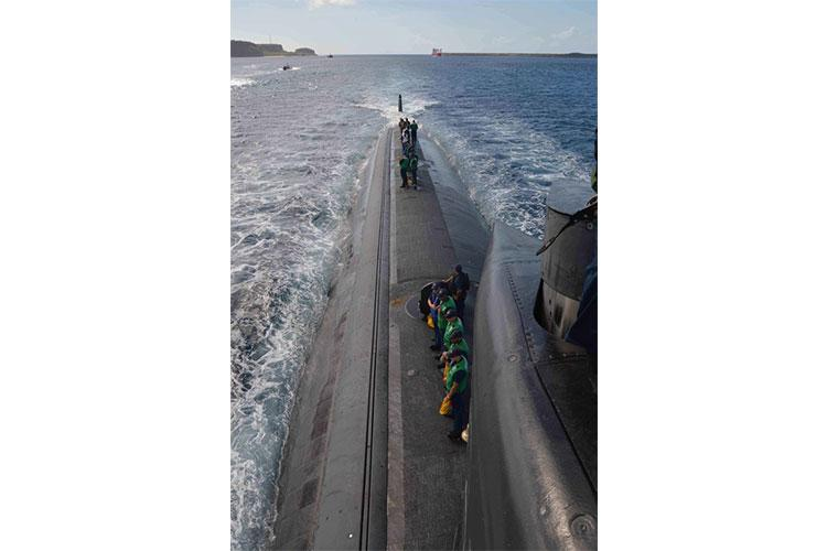 U.S. Navy file photo of a Los Angeles-class fast-attack submarine (Photo by Mass Communication Specialist Seaman Apprentice Alana Langdon)