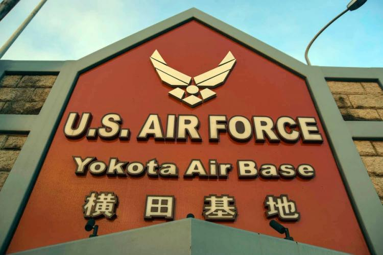Yokota Air Base in the suburbs of western Tokyo is home to U.S. Forces Japan, 5th Air Force and the 374th Airlift Wing. THERON GODBOLD/STARS AND STRIPES