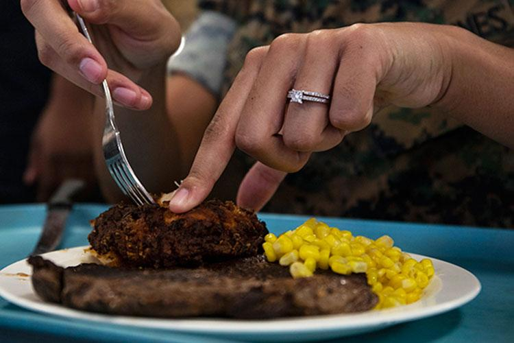Are you mindful of what you eat? Do you pay attention to your personal activities? A personal protective lifestyle (PPL) and personal protective nutrition (PPN) could be your key to resiliency in the face of COVID-19. (Photo by Marine Lance Cpl. Samantha Sanchez, Marine Corps Base Hawaii.)