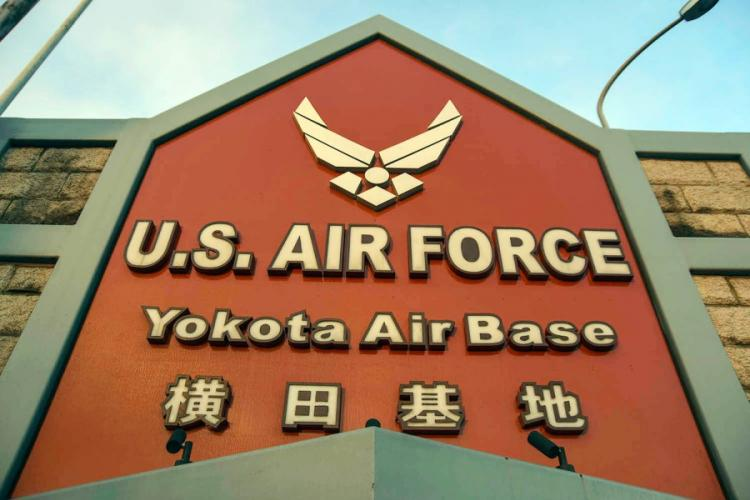 Yokota Air Base is home to U.S. Forces Japan, 5th Air Force and the 374th Airlift Wing in western Tokyo. THERON GODBOLD/STARS AND STRIPES