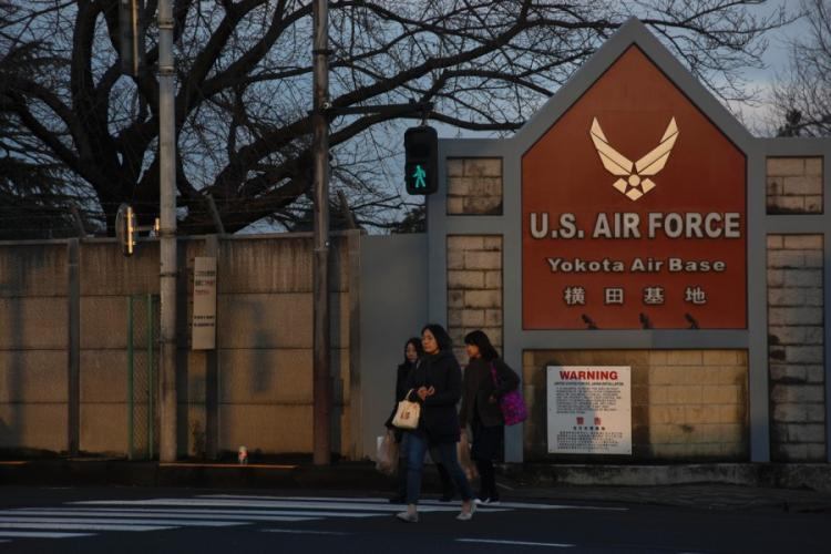 Yokota Air Base is home of U.S. Forces Japan, 5th Air Force and the 374th Airlift Wing in western Tokyo. THERON GODBOLD/STARS AND STRIPES