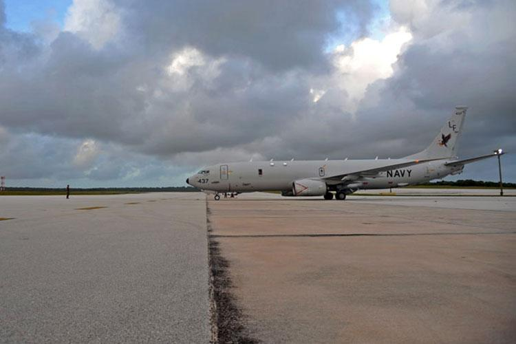 File photo of a P-8A Poseidon. (Photo by Petty Officer 1st Class Kevin Flynn)