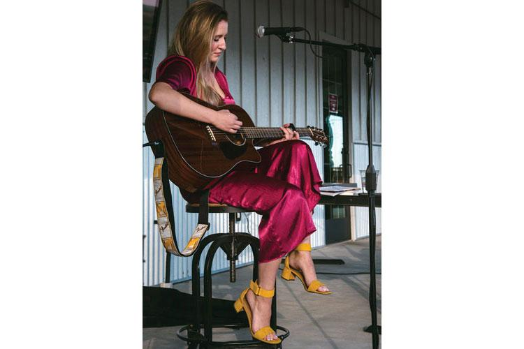 """Ally Westover plays a coffee house in Colorado prior to the release of her debut single """"Lullaby."""" (Courtesy photos)"""