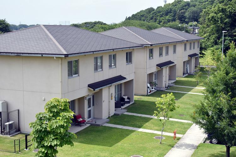 "The E9 and senior noncommissioned officer housing at Camp Zama, Japan, received a 2019 ""Platinum A-List Award"" from CEL and Associates, Inc., an independent company hired to evaluate customer satisfaction with Army housing. (Photo Credit: Winifred Brown)"