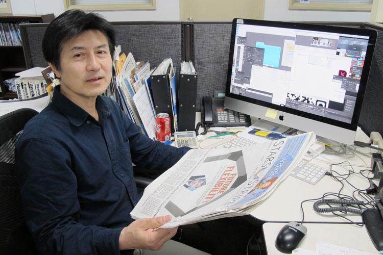 Kenichi Ogasawara, Graphic designer