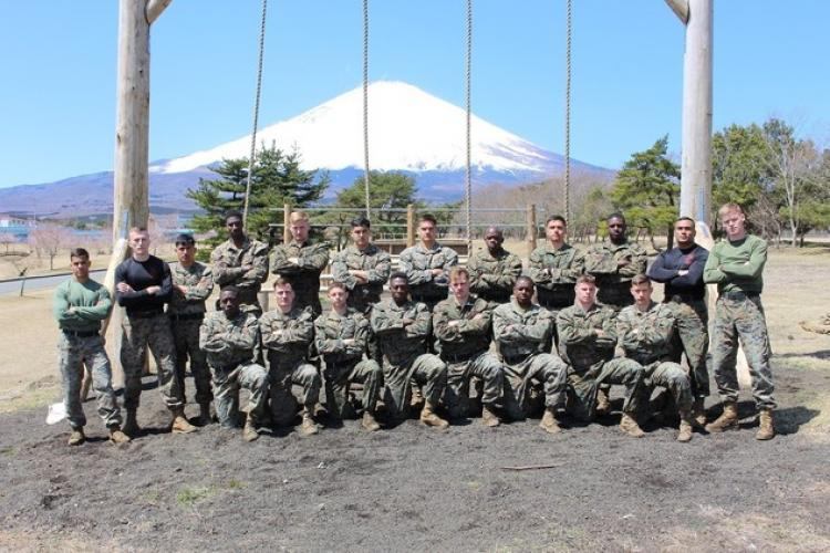 Courtesy photo by U.S. Marine Corps 2nd Lt. Ryan Morie