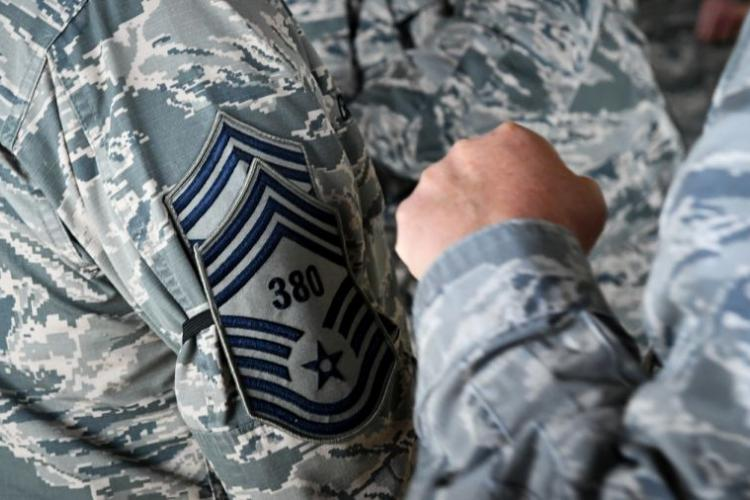 The Air Force has announced that it will will no longer test senior noncommissioned officers for promotion.  MOZER O. DA CUNHA/U.S AIR FORCE