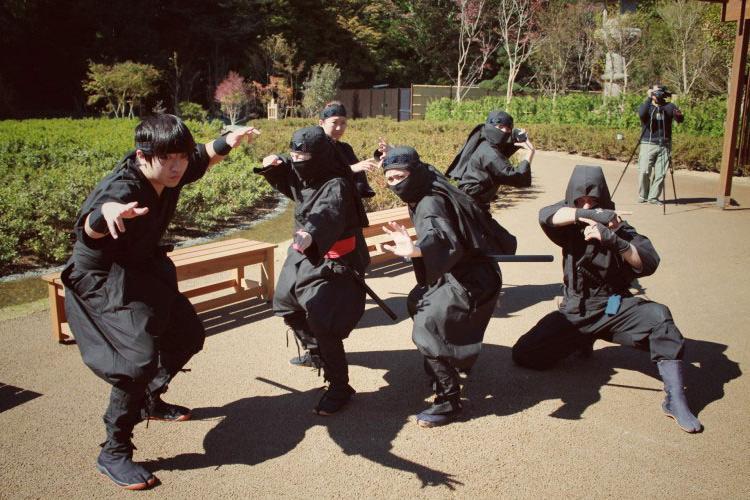 Shinobi no Sato: Ninja Village   Stripes Japan