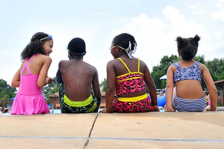 Summer days can be such fun, if done safely (Photo by: Tommie Horton, 78th Air Base Wing).