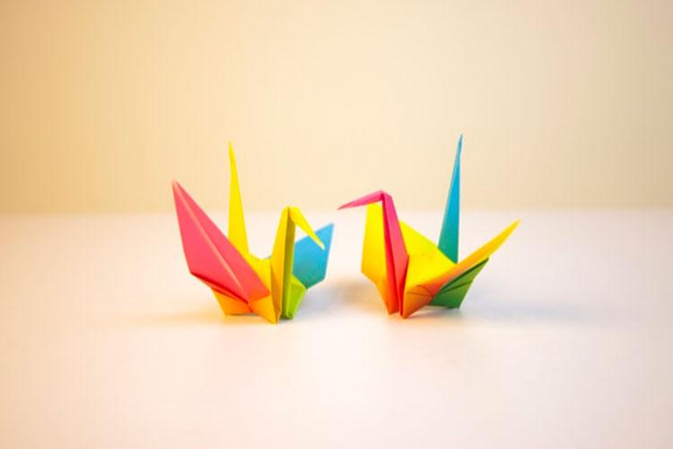 Origami Crane - How To Fold | Craft Passion - Free Pattern & Tutorial | 500x750