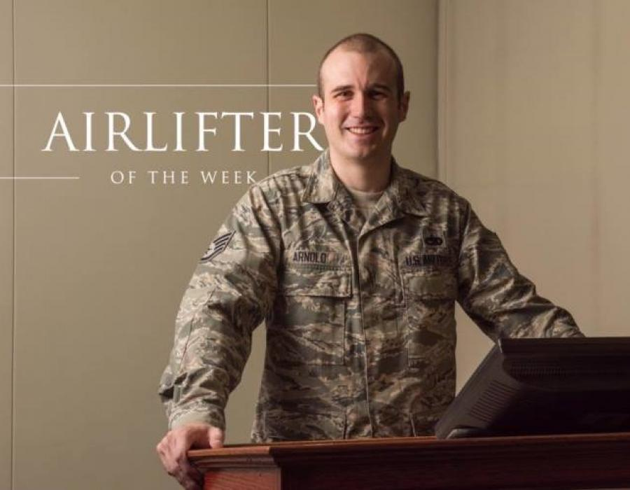Airlifter of the Week: Staff Sgt. Paul Arnold