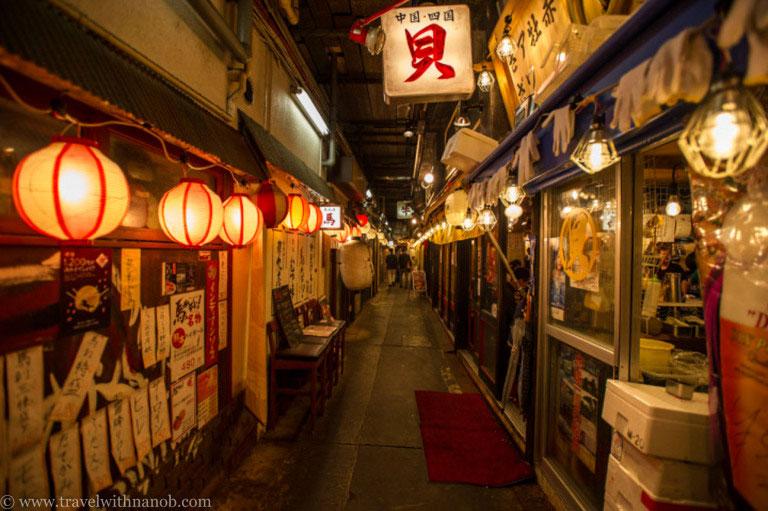 Best Izakaya Alleys In Tokyo Stripes Japan